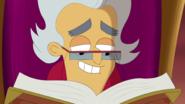 S1e24 narrator continues reading, closeup