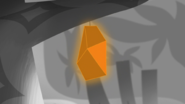 S1e24 orange gem close-up