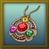 Mountain Heart Amulet