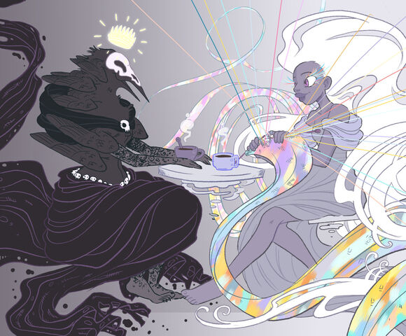 File:Raven Queen and Istus by Canadian-witch.jpg