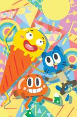 KABOOM Amazing World of Gumball 009 B