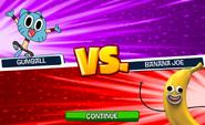 Gumball vs. Banana Joe