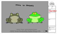 GB236WORLD Costume frog