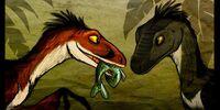 Dinosaurs in Megaville