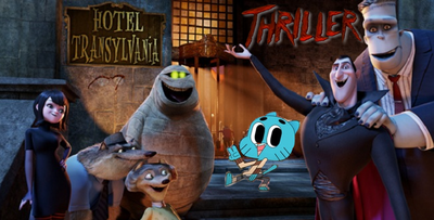 Thriller in Hotel Transylvania with Gumball