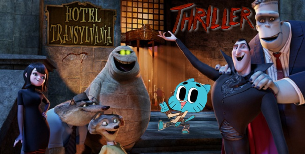 thriller - The Amazing World Of Gumball The Halloween