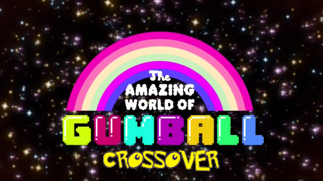 File:The amazing world of Gumball Crossover - logo.png