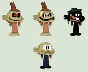 Darwin scarecrow2 by pumpkinlol-d7daghs