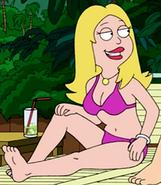 Francine bikini