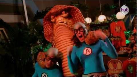 """The Aquabats! Super Show! """"CobraMan"""" (Promo) - The Hub"""