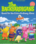 The Backyardigans Quest for the Extra Ordinary Aliens Poster