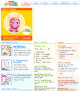 NickJr.com - The Backyardigans Nickelodeon Nick Jr. Characters Cast Home Page