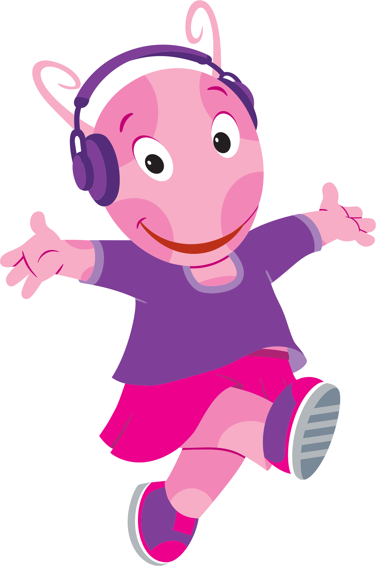 Uncategorized Pink Backyardigan image the backyardigans move to music uniqua 2 png wiki fandom powered by wikia
