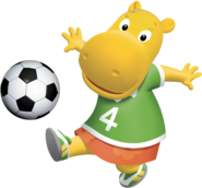 The Backyardigans Tasha Soccer Fútbol Nickelodeon Nick Jr. Character Image