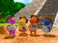 The Backyardigans Quest for the Flying Rock 25 Characters Cast