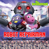 The Backyardigans Robot Repairman - iTunes Cover (Canada)
