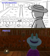 The Backyardigans Funnyman Boogeyman Storyboard-Previsualization Comparison 2