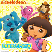 Nickelodeon Dance Party - iTunes Cover (United States)