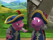 Backyardigans The Two Musketeers 22 Uniqua Austin