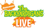 The Backyardigans Live Logo