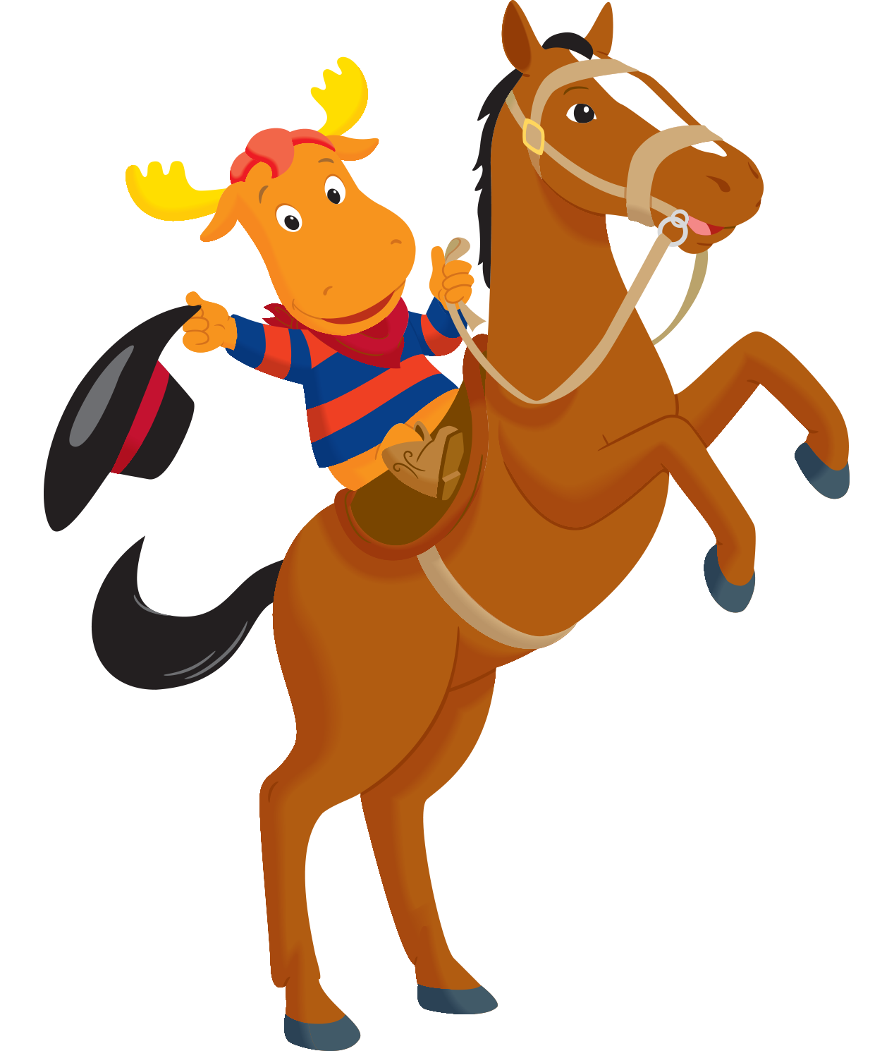 Image - The Backyardigans Cowboy Tyrone on Harvey.png | The ...