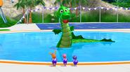 The Backyardigans Amazing Splashinis 29 Sea Monster
