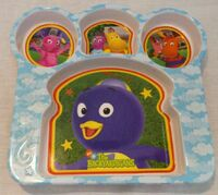 The Backyardigans Sandwich Plate by Zak! Designs
