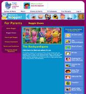 Parents Show Page Noggin.com Backyardigans