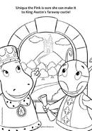 The Backyardigans Uniqua and Tasha in Knight Quest