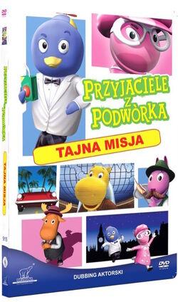 Przyjaciele z podwórka Tajna misja DVD