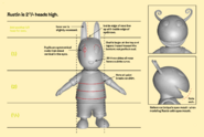 The Backyardigans Austin 3D Reference Front