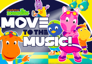 The Backyardigans Move to the Music! Guide Cover