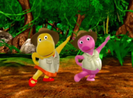 The Backyardigans Quest for the Flying Rock 13 Uniqua Tasha
