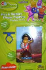Captain Tasha Finger Puppet by Imperial Toy