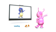 The Backyardigans Uniqua and Pablo in Nickelodeon Dance for Wii