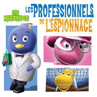 Les Mélodilous Les professionnels de l'espionnage - iTunes Cover (Canada)