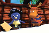 Pirate Treasure Pablo and Tyrone