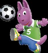 The Backyardigans Austin Soccer Fútbol Nickelodeon Nick Jr. Character Image