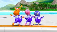 The Backyardigans Amazing Splashinis 8 Uniqua Pablo Tyrone Characters Cast