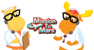 The Backyardigans Characters - Tyrone and Tasha Mission to Mars