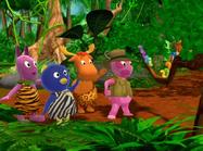 The Backyardigans The Heart of the Jungle Uniqua Pablo Tyrone Austin Wormans