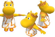 The Backyardigans Tasha as Goddess of the Weather Model Sheet