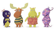 Backyardigans Me and My Friends Character Designs