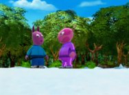 The Backyardigans Race Around the World 14 Uniqua Austin