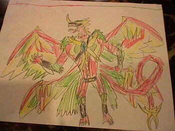 FireStorm Hawk Dragonoid