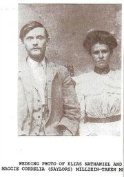 Elias Nathaniel and Maggie Millikin