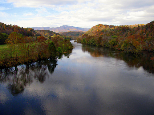File:James River from the Blue Ridge Parkway.jpg
