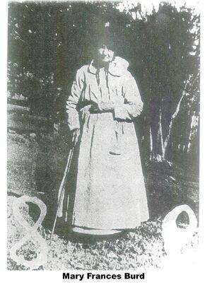 Mary Frances Burd