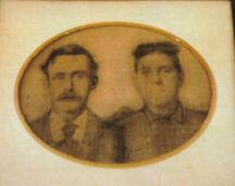 George Alfred and Tina Columbus Pickett Beard