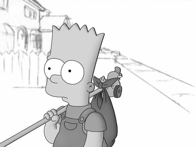 File:Bart-simpson-black-and-white.jpg